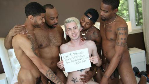 black rebels rape white gay